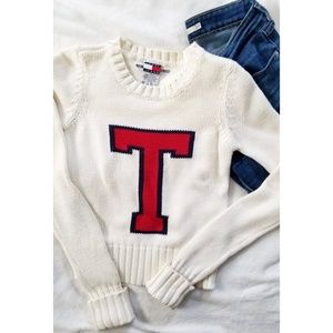 Tommy Girl Jeans T Knit Crew Sweater XS